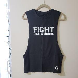 *3 for $10 tanks* Fight Like A Grrrl